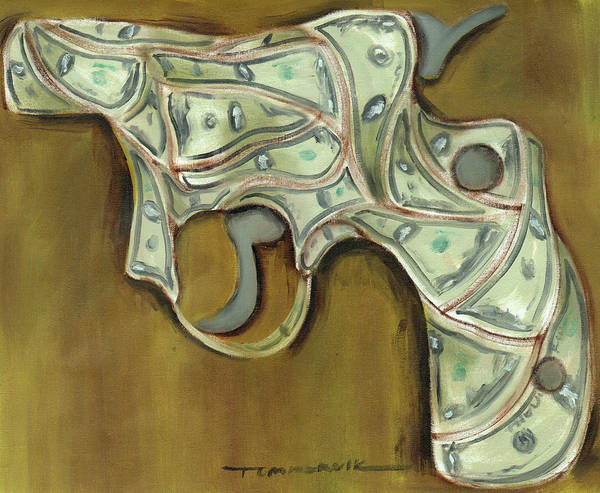 Tommervik Cash Gun Art Print Poster