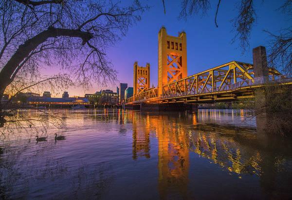 Tower Bridge At Sunrise - 4 Poster