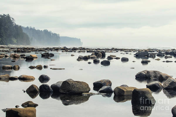 Tranquil Sea Water Surface Landscape Poster