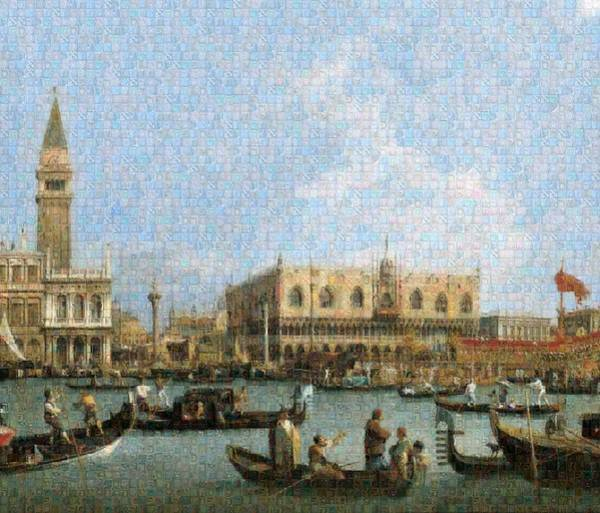 Tribute To Canaletto Poster