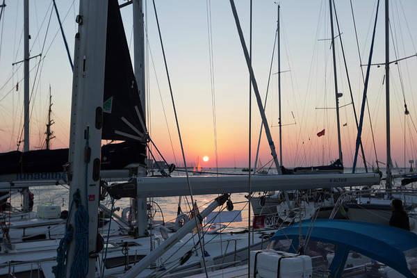 Trieste Sunset Poster