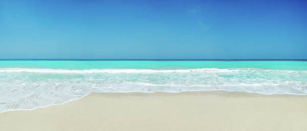 Tropical White Sand Beach Poster