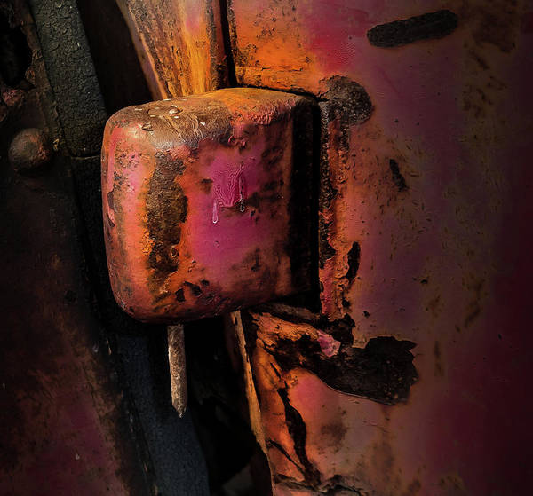 Truck Hinge With Nail Poster