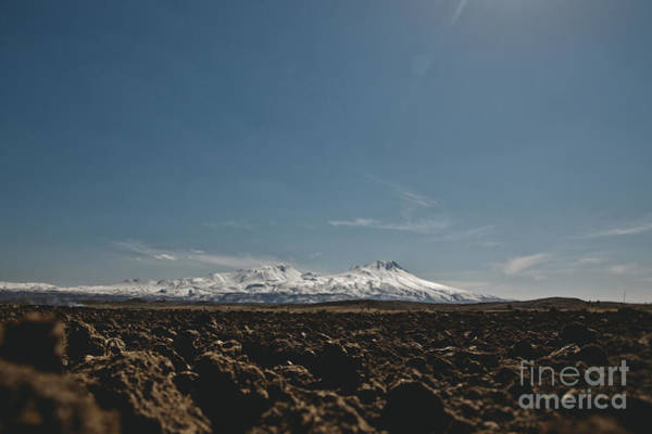 Turkish Landscapes With Snowy Mountains In The Background Poster