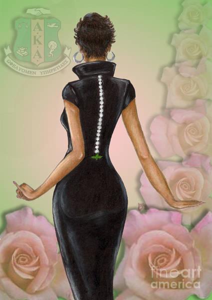 Twenty Pearls N Pink Roses Poster