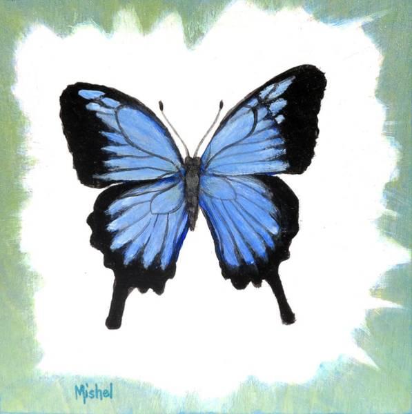 Ulysses Blue Poster