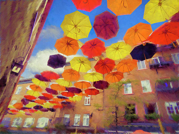 Umbrellas 002 Poster