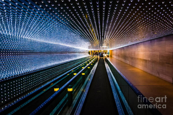 Underground Moving Walkway At The Poster