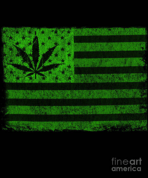 United States Of Cannabis Poster