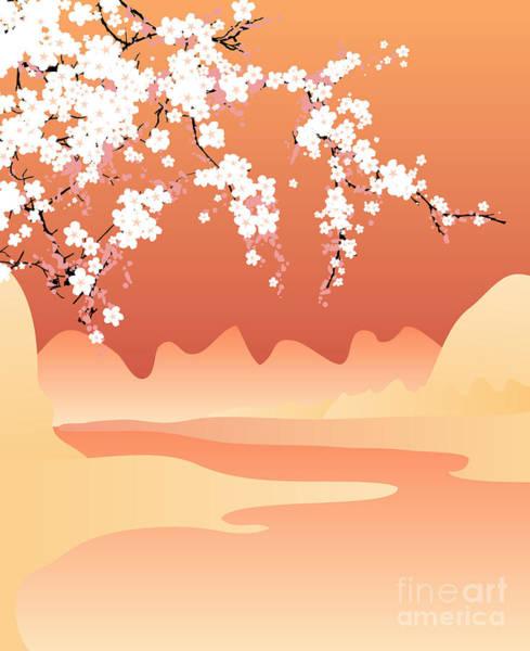 Vector Japan Background Poster