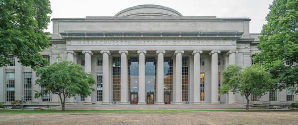 View Of Massachusetts Institute Poster