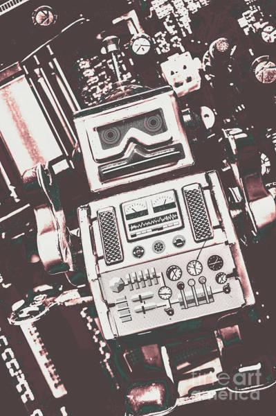 Vintage Robotics Poster