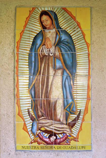 San Gabriel Mission - Nuestra Senora De Guadalupe Poster