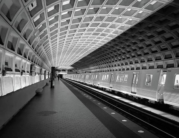 Waiting At Pentagon City Station Poster
