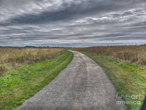 Walnut Woods Pathway - 1 Poster
