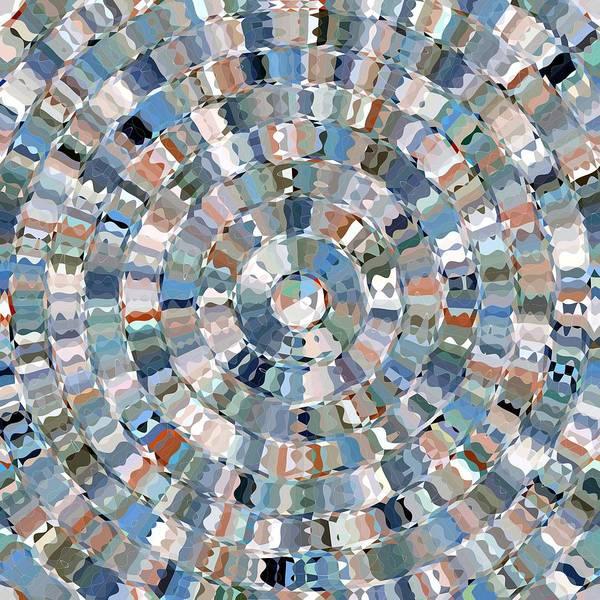 Water Mosaic Poster