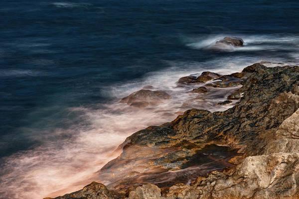Waves And Rocks At Sozopol Town Poster