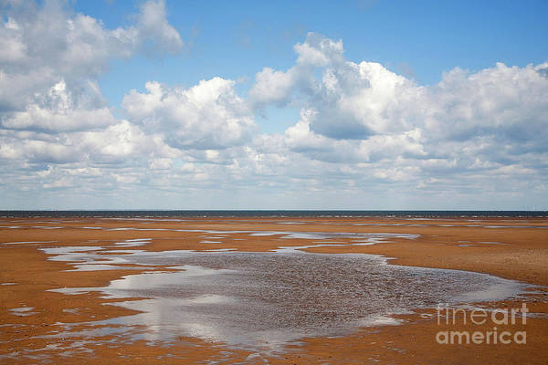 Wet Sand, Norfolk Poster