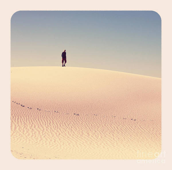 White Sands Park In Usa Poster