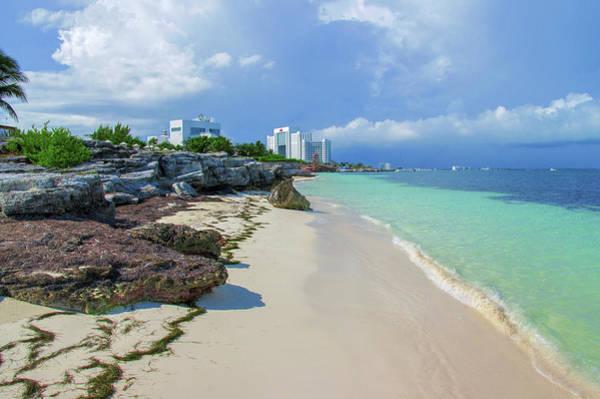 White Sandy Beach Of Cancun Poster