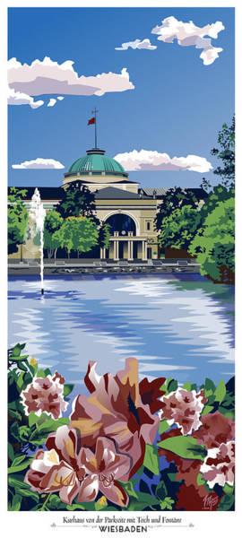 Wiesbaden Kurhaus Poster