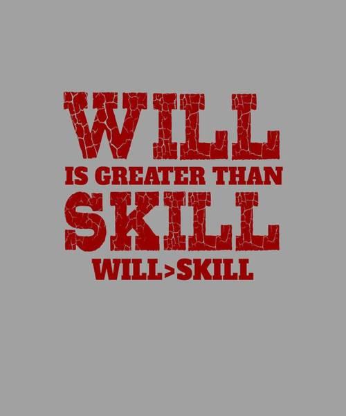 Will Skill Poster