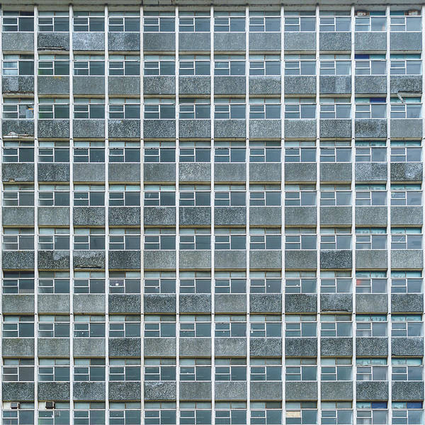Windows Pattern Modern Architecture Poster