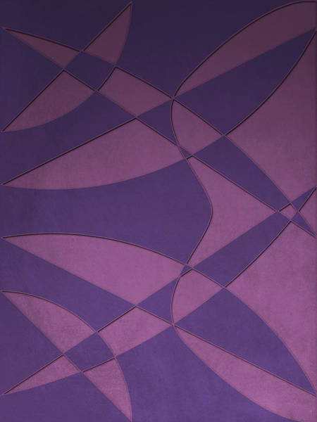 Wings And Sails - Purple And Pink Poster