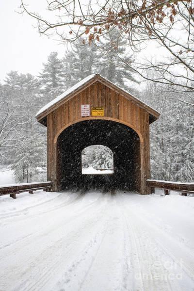 Winter At Babb's Bridge Poster