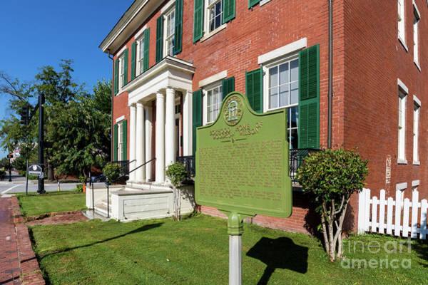 Woodrow Wilson Boyhood Home - Augusta Ga 1 Poster