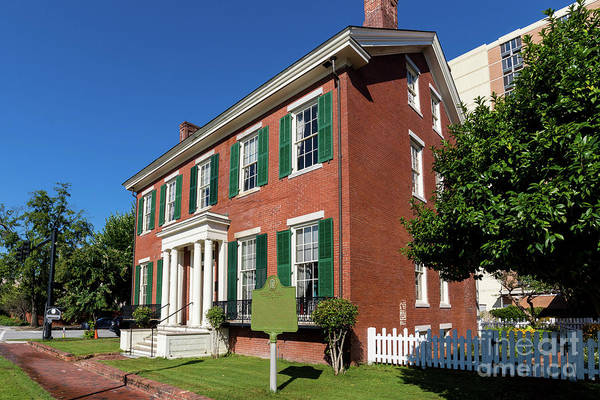 Woodrow Wilson Boyhood Home - Augusta Ga 2 Poster