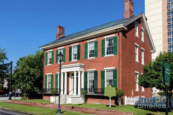 Woodrow Wilson Boyhood Home - Augusta Ga 3 Poster