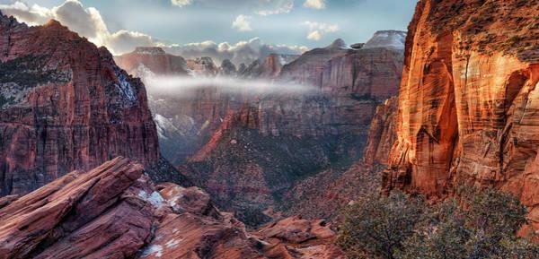 Zion Canyon Grandeur Poster