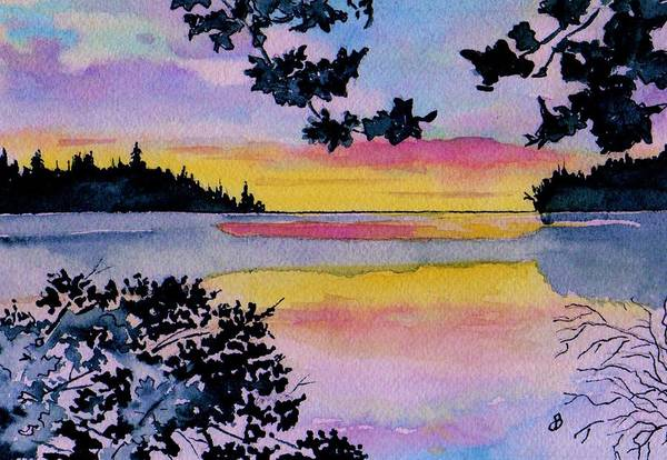 Scenery Painting Watercolor