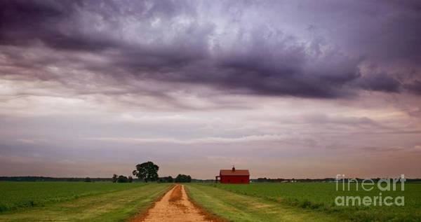 Photograph -  A Little Red House by Rima Biswas