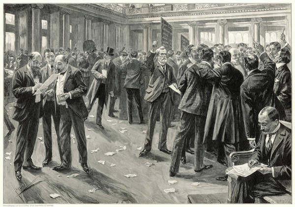 Litter Drawing -  A Lively Scene In The Berlin  Stock by Mary Evans Picture Library