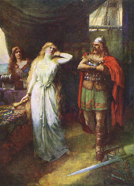 Wall Art - Drawing -  Act One, Scene 5  The Love  Philtre by Mary Evans Picture Library