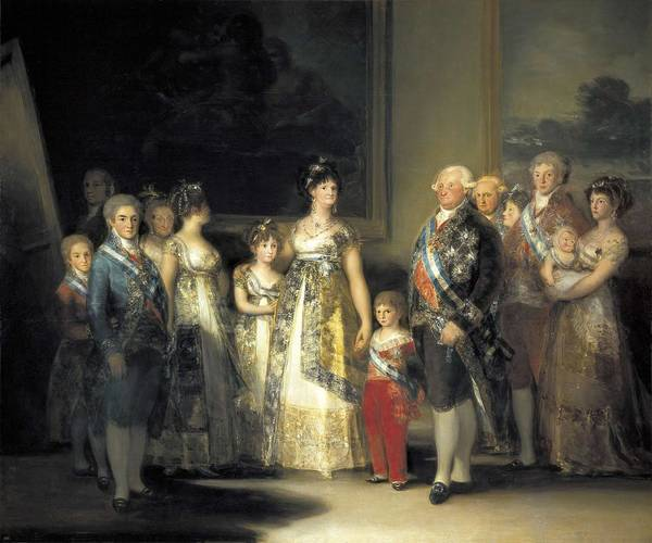 1755 Photograph - � Aisaeverett Collection Goya Y by Everett