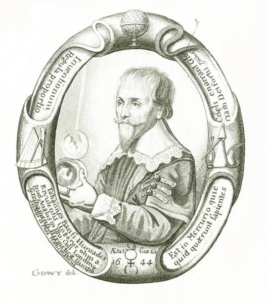 Paranormal Drawing -  Alchemist, At Age 68         Date 1576 by Mary Evans Picture Library