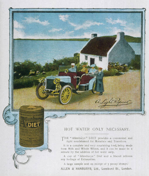 Wall Art - Drawing -  Allen & Hanbury's  'diet' Health by Mary Evans Picture Library