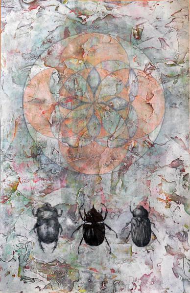 Wall Art - Painting -  Armata Erant Mystica  by Adam Laughlin