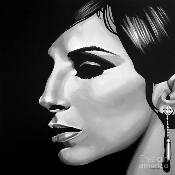 Hero Mixed Media -  Barbra Streisand by Meijering Manupix
