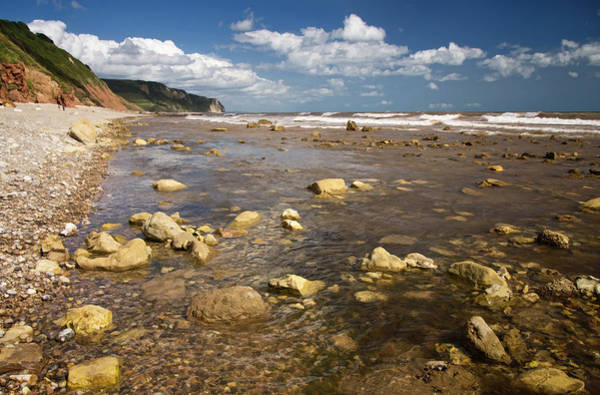 Photograph -  Between Weston Mouth And Branscombe by Pete Hemington