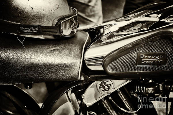 Photograph -  Brough Superior Ss100 by Tim Gainey