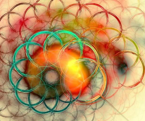 Digital Art -  Chain Of Events by Anastasiya Malakhova