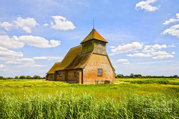Fairfield Photograph -  Church Of Thomas A Becket Romney Marsh Kent by Colin and Linda McKie