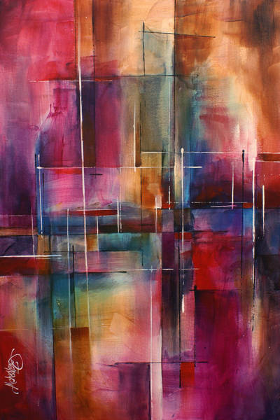Wall Art - Painting - ' City Limits ' by Michael Lang