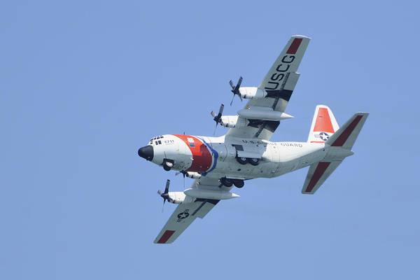 Photograph -  Coast Guard Hc-130 by Bradford Martin