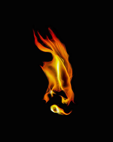 Photograph - Consumed By Fire by Wes Jimerson