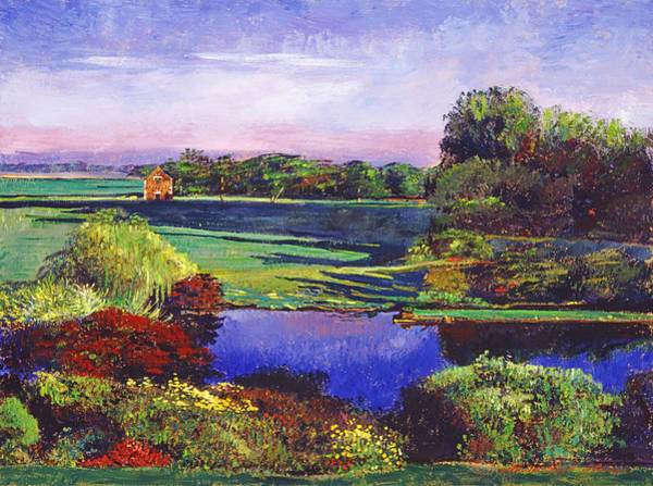 Estate Painting -  Country View Estate by David Lloyd Glover